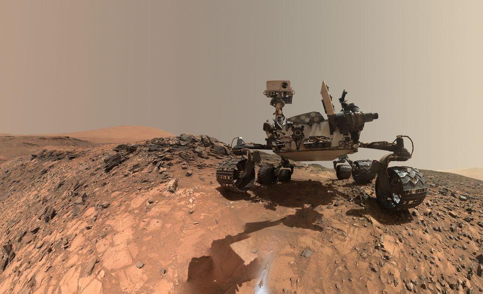 Поглед на Марс од 360 степени