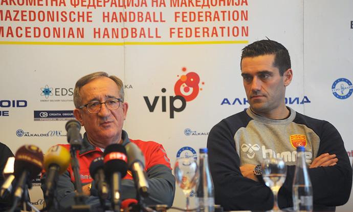 Македонска ракометна репрезентација  Во добра атмосфера и со голем ентузијазам за Франција