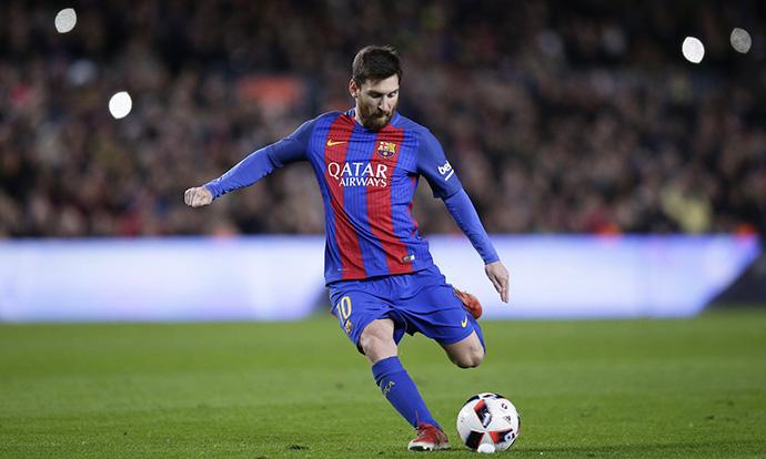 Нов гол од слободен на Меси  Барселона во четвртфиналето на купот