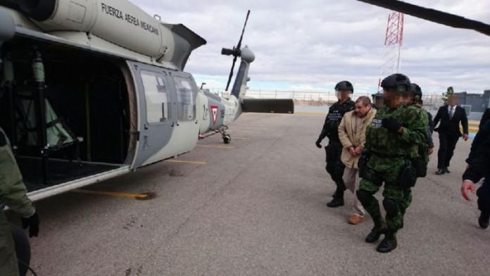 Наркобосот Ел Чапо екстрадиран од Мексико во САД