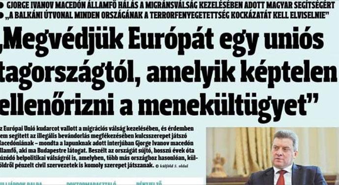 Иванов за  Magyar Hírlap   Нови предвремени избори се можен излез од кризата