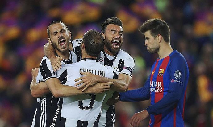 Пике  Јувентус го заслужи полуфиналето  може и да ја освои ЛШ оваа сезона