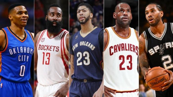 НБА  Без играчи од Голден Стејт во најдобрата петорка