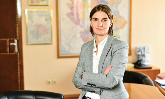 Новата премиерка на Србија ќе ги врати министрите на предавања