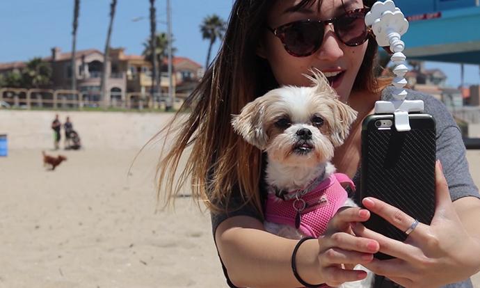 Направете совршено селфи со вашето милениче