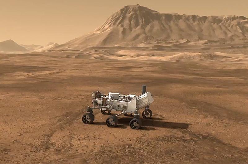 mars rover landing - 800×530