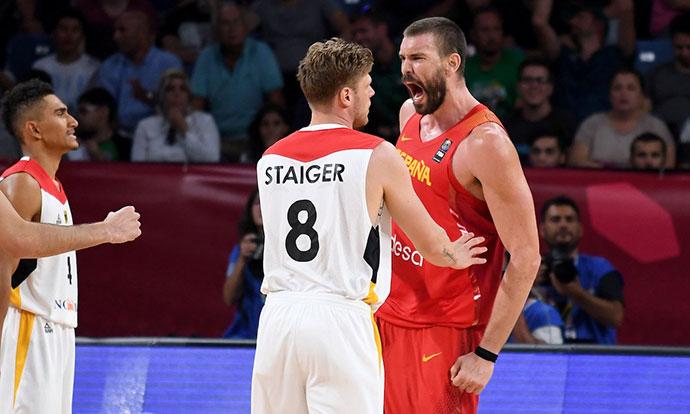 Евробаскет  Браќата Гасол пресилни за Германија  Шпанија во полуфинале