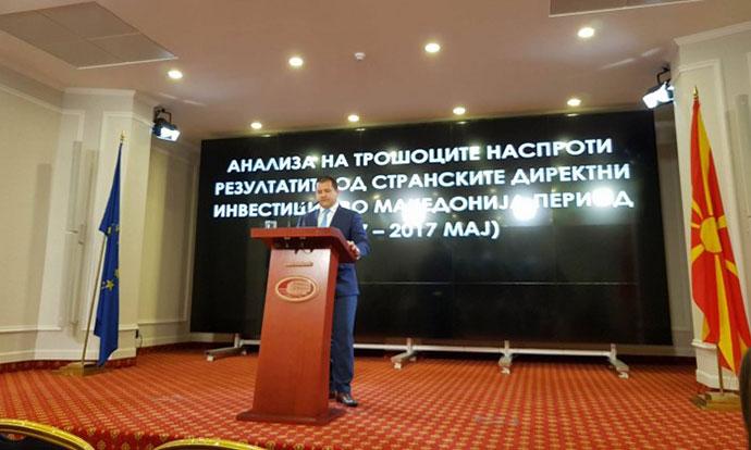 Странските инвестиции ја чинеле Македонија 225 милиони евра