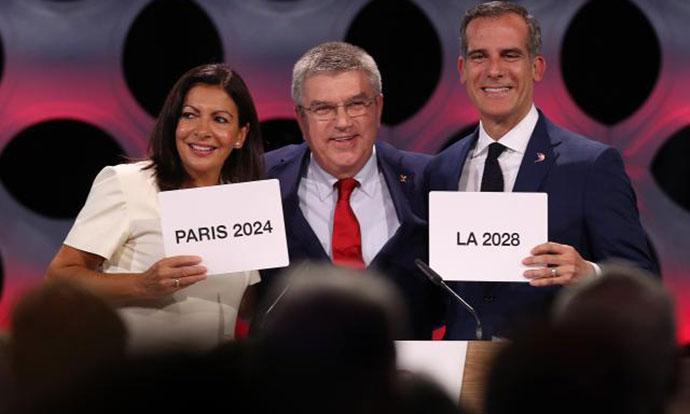 ОИ во Париз во 2024  а во Лос Анџелес во 2028 година