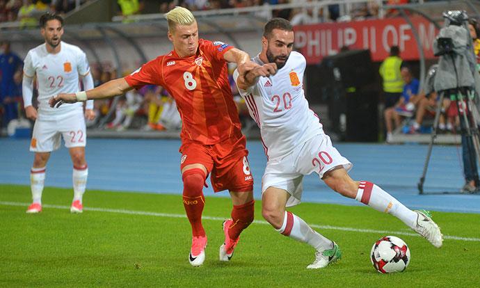 Познати групите од Лигата на нации на УЕФА  Македонија носител во Д групата