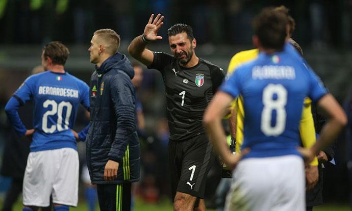 Буфон се прости од репрезентацијата во солзи  СП 2018 без Италија