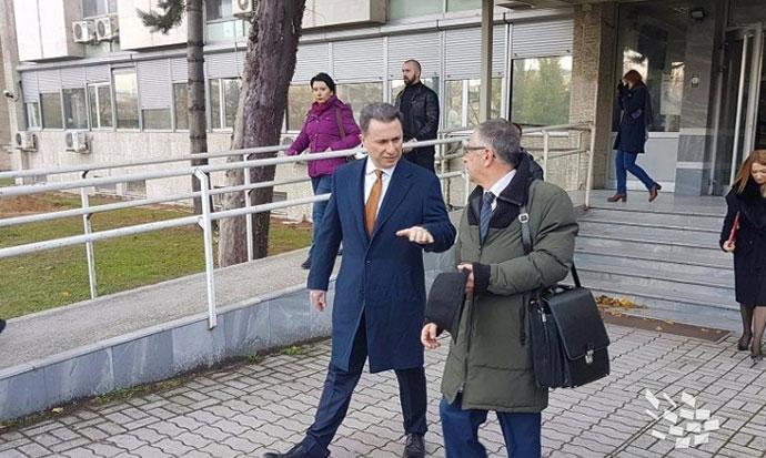 Груевски  Јанакиески и Пешевски на обвинителна клупа за провизиите за кинеските патишта