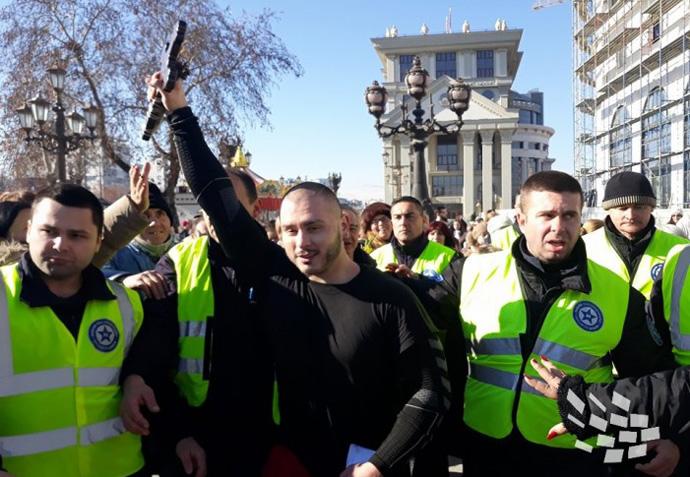Даниел Дончевски од Маџари по петти пат го фати крстот во Скопје