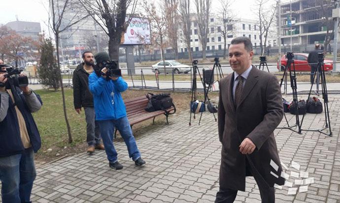 Груевски  Си ги бараме нашите права  судија