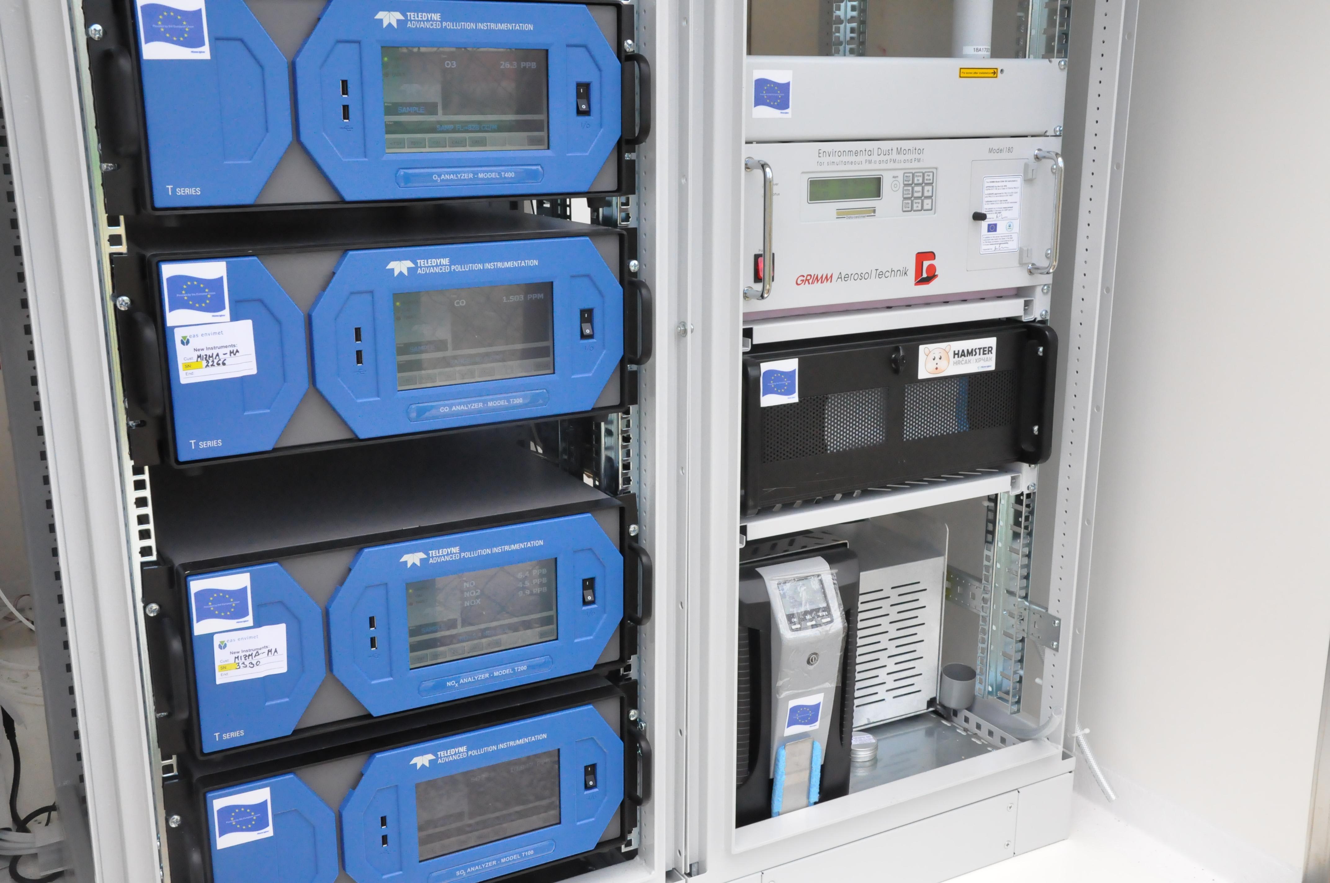 Општина Бутел ја доби првата мобилна станица за мерење на квалитетот на воздухот