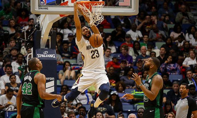 НБА  Дејвис доминираше против резервниот тим на Селтикс