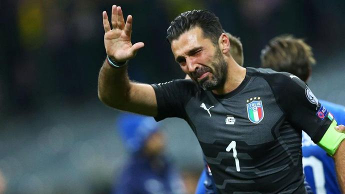 Легендарниот Буфон се врати во репрезентацијата на Италија