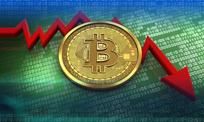 Најголем пад на биткоин досега
