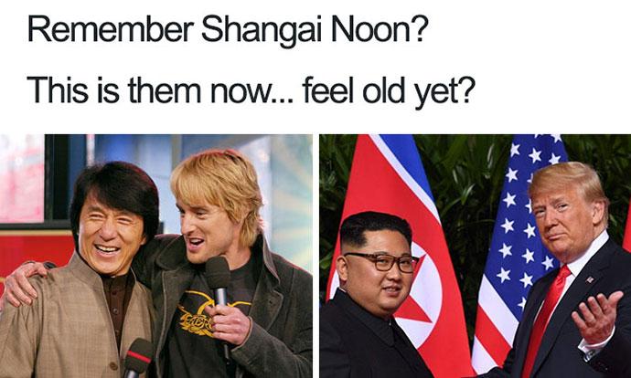 Најсмешните мемиња за средбата Трамп-Ким