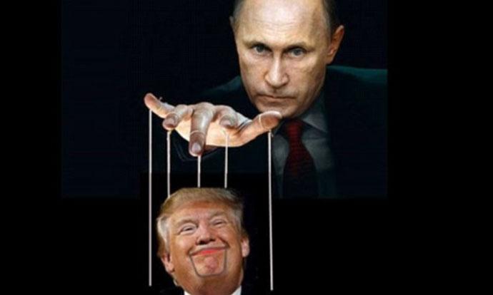 Марионетата на Путин – Интернетот го исмева Доналд Трамп