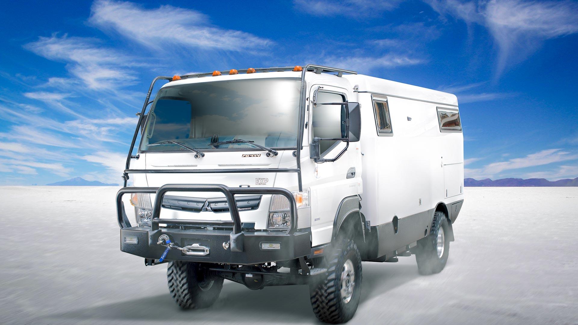 EarthCruiser нуди идеaлно возило за кампување