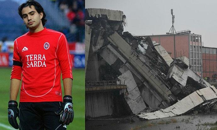 Поранешен фудбалски голман чудесно го преживеа рушењето на мостот во Џенова