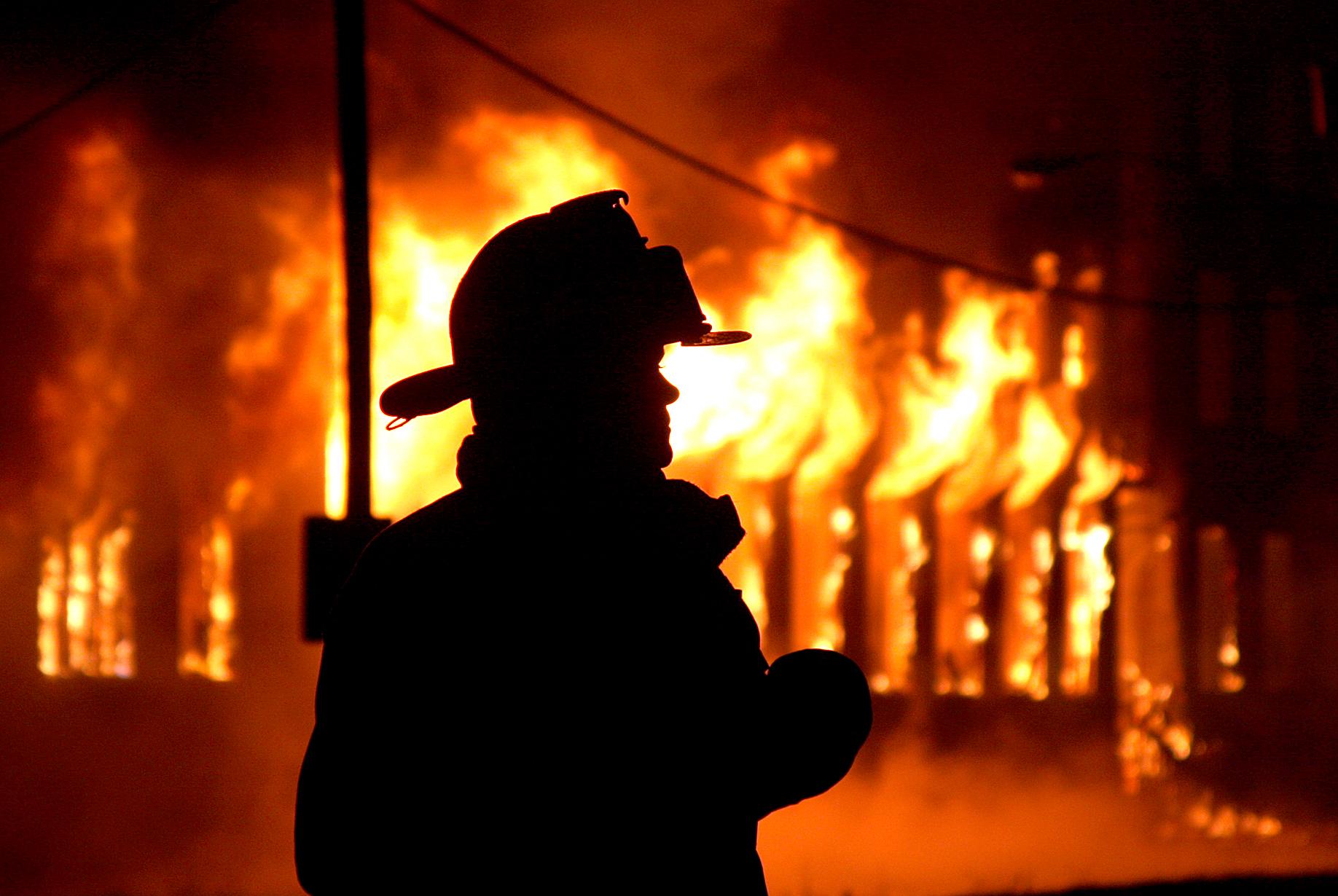 Изгоре куќа во Кисела Вода, нема повредени