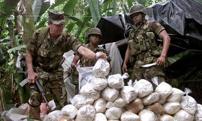 Рекордно производство на кокаин во Колумбија во 2017 година