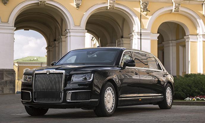 Пристигна Aurus Senat: Најлуксузниот руски автомобил наменет за претседателот Путин