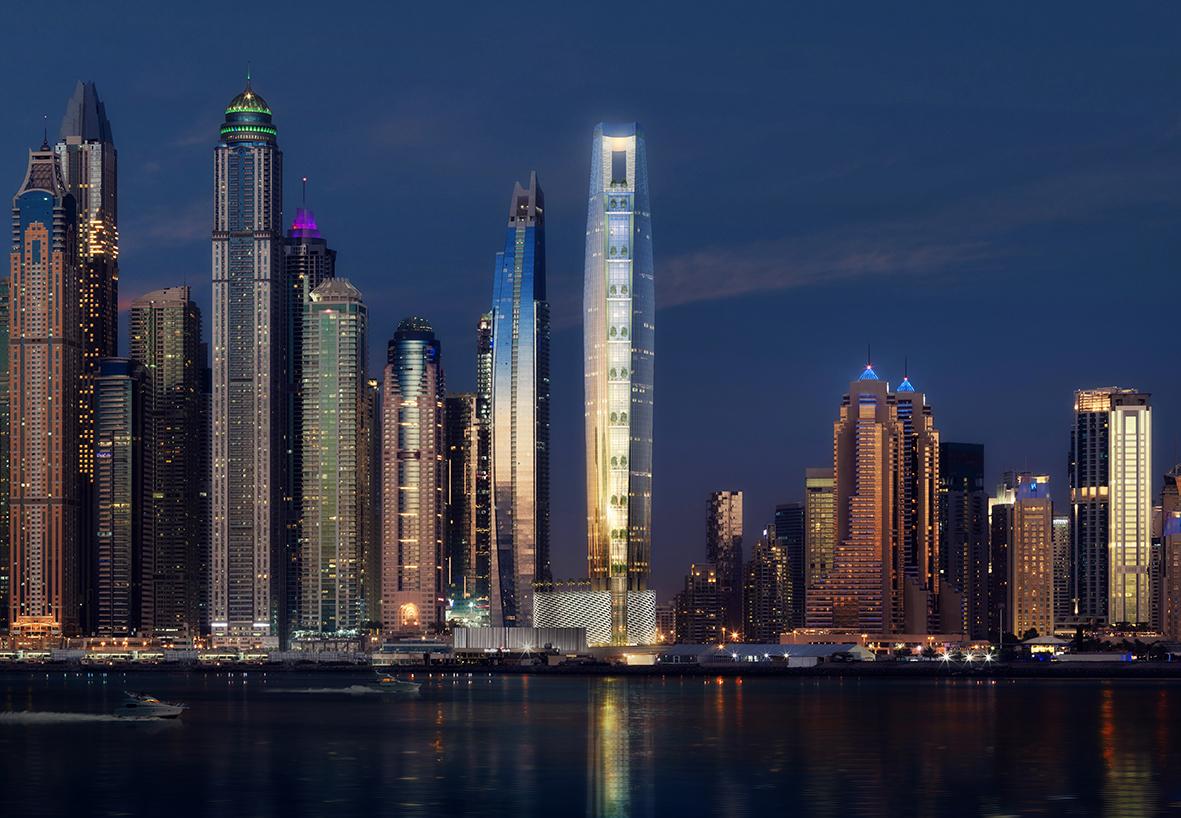 Дубаи ќе го добие највисокиот хотел во светот