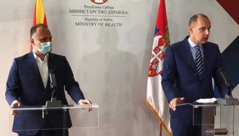 Македонските граѓани да не одат во Србија на вакцинација без закажан термин