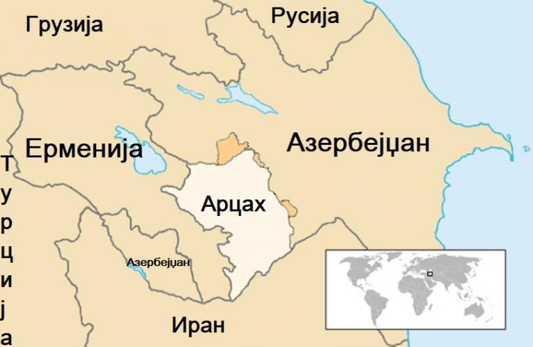 Косово и Нагорно-Карабах не може да се споредуваат