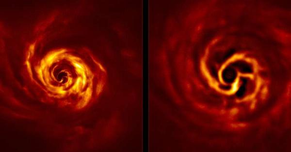 Научници снимија раѓање на ѕвезден систем
