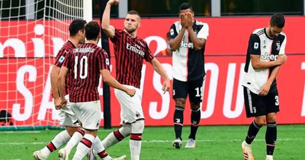 Милан го среди Јуве, бламажа на Лацио