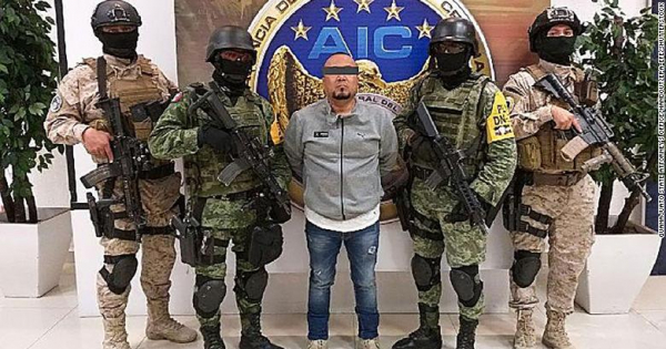 Уапсен Ковачот - водач на мексиканската банда Санта Роса де Лима