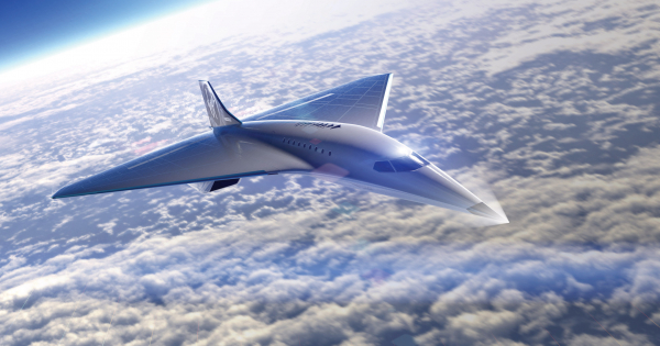 Virgin Galactic и Rolls Royce претставија надзвучен авион