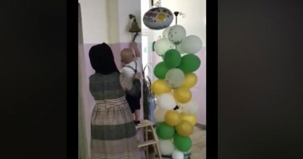 Позитива на денот: 3-годишниот Реџеп го победи ракот и го огласи ѕвончето на Детската клиника во Скопје