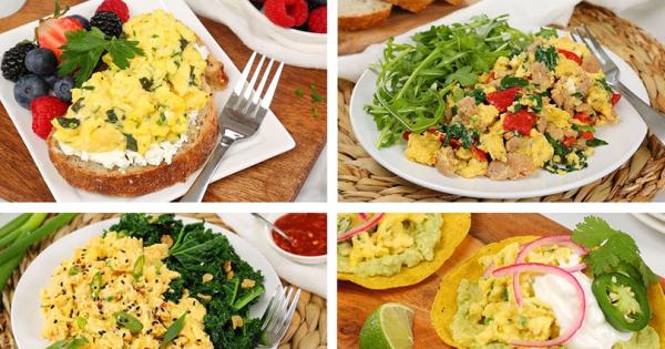 4 идеи за вкусен доручек со јајца