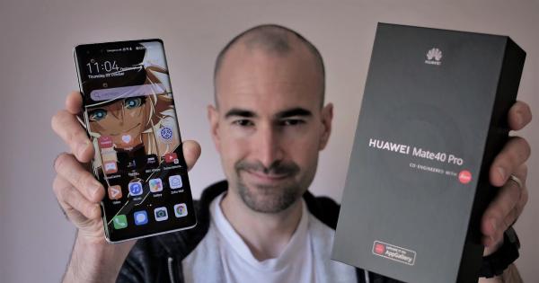 Поглед во новиот Huawei Mate 40 Pro