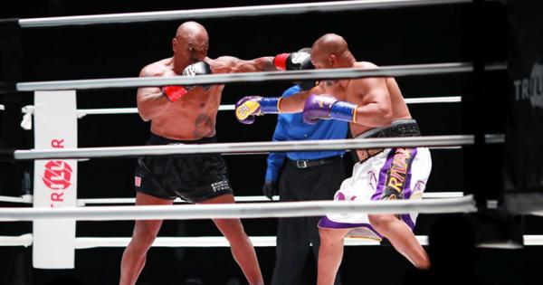 Борбата меѓу Тајсон и Џонс заврши нерешено