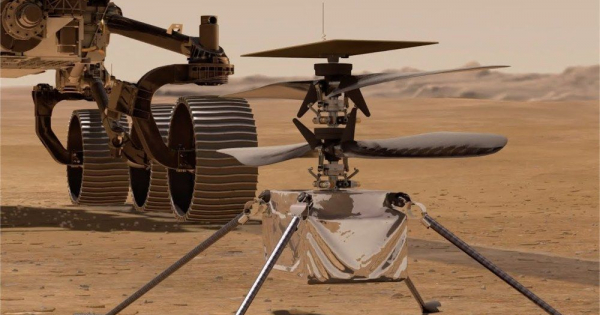 Хеликоптерот на НАСА ја преживеа првата студена ноќ на Марс