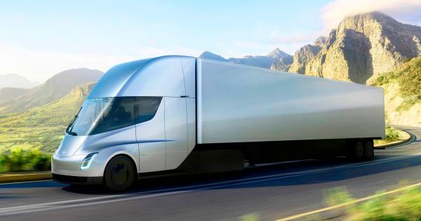 Tesla Semi камионот одложен за 2022 година