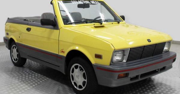 За колку ќе се продаде Yugo Cabrio од 1990 година со поминати 595 километри?