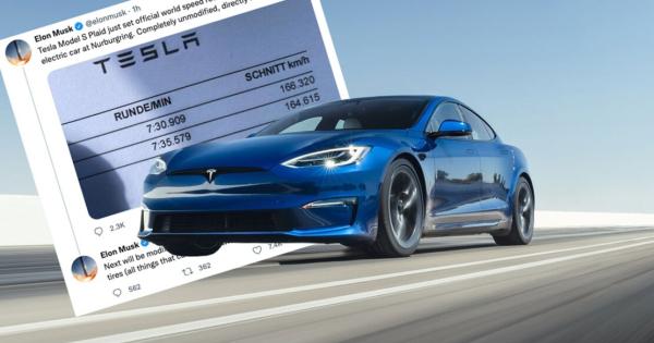Трка на струја: Tesla побрза од Porsche на Нирбургринг